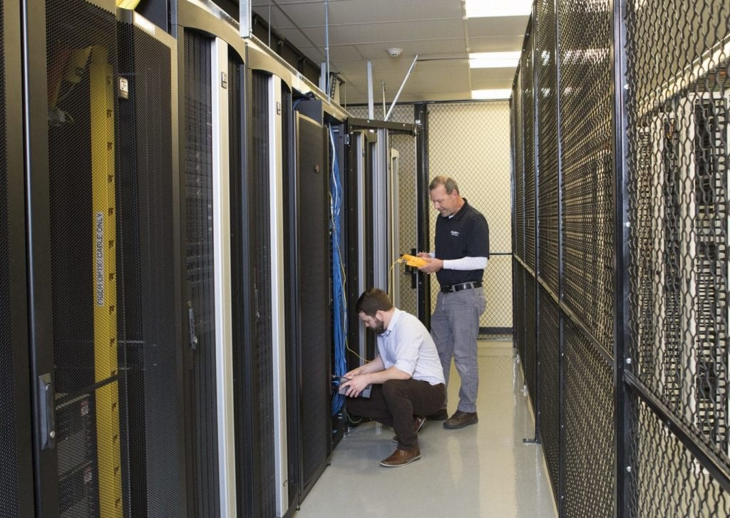 Colocation data center engineers