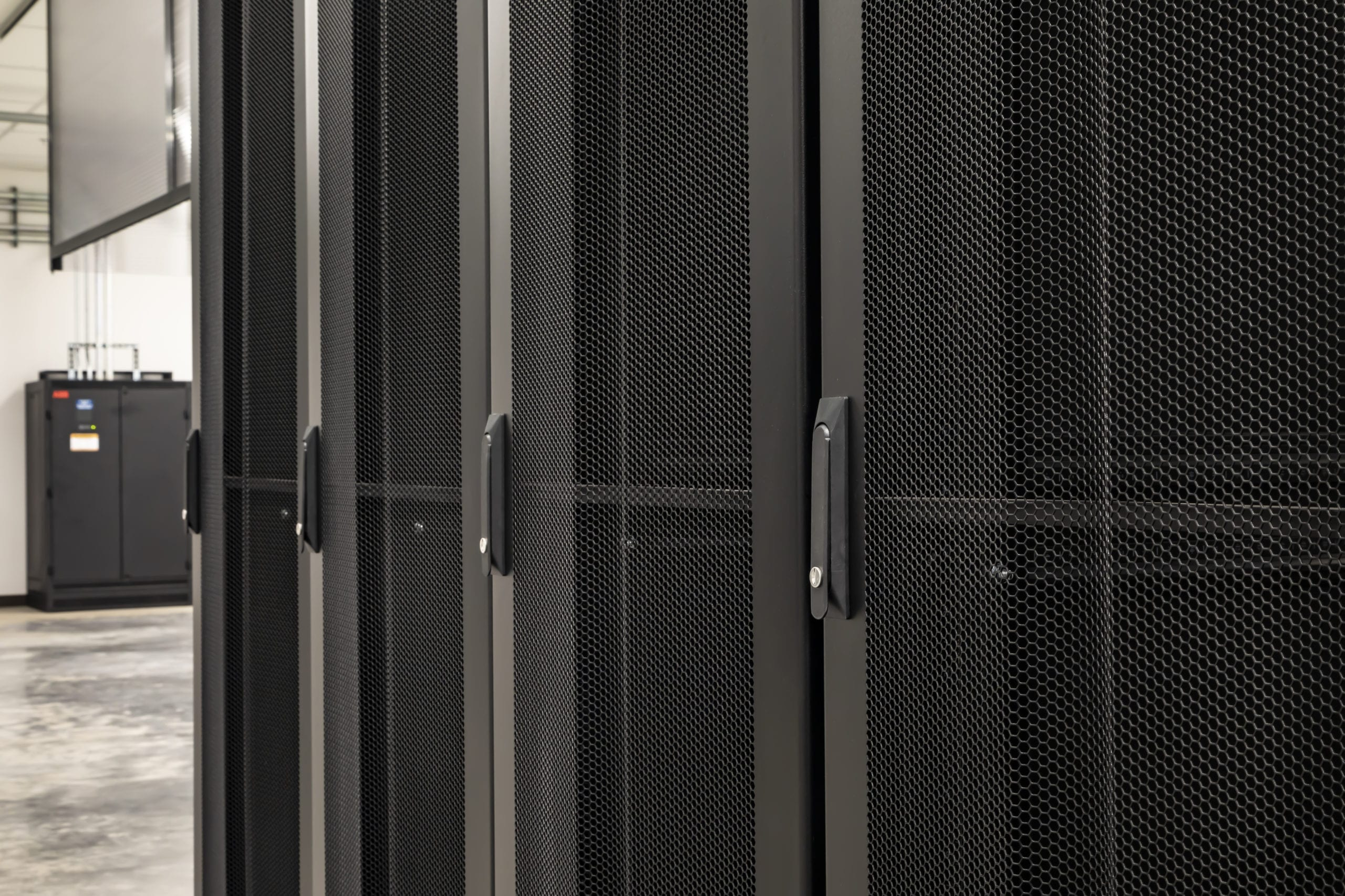 Server Cages In Data Center