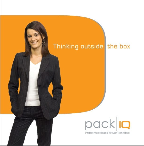 packIQ corporate brochure - industrial packaging solutions, steels racks and wooden shipping crates