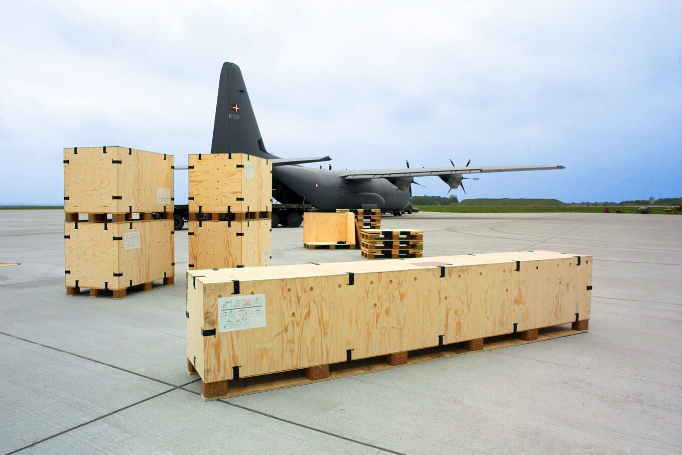 Clip Lok Shipping Crates for Military